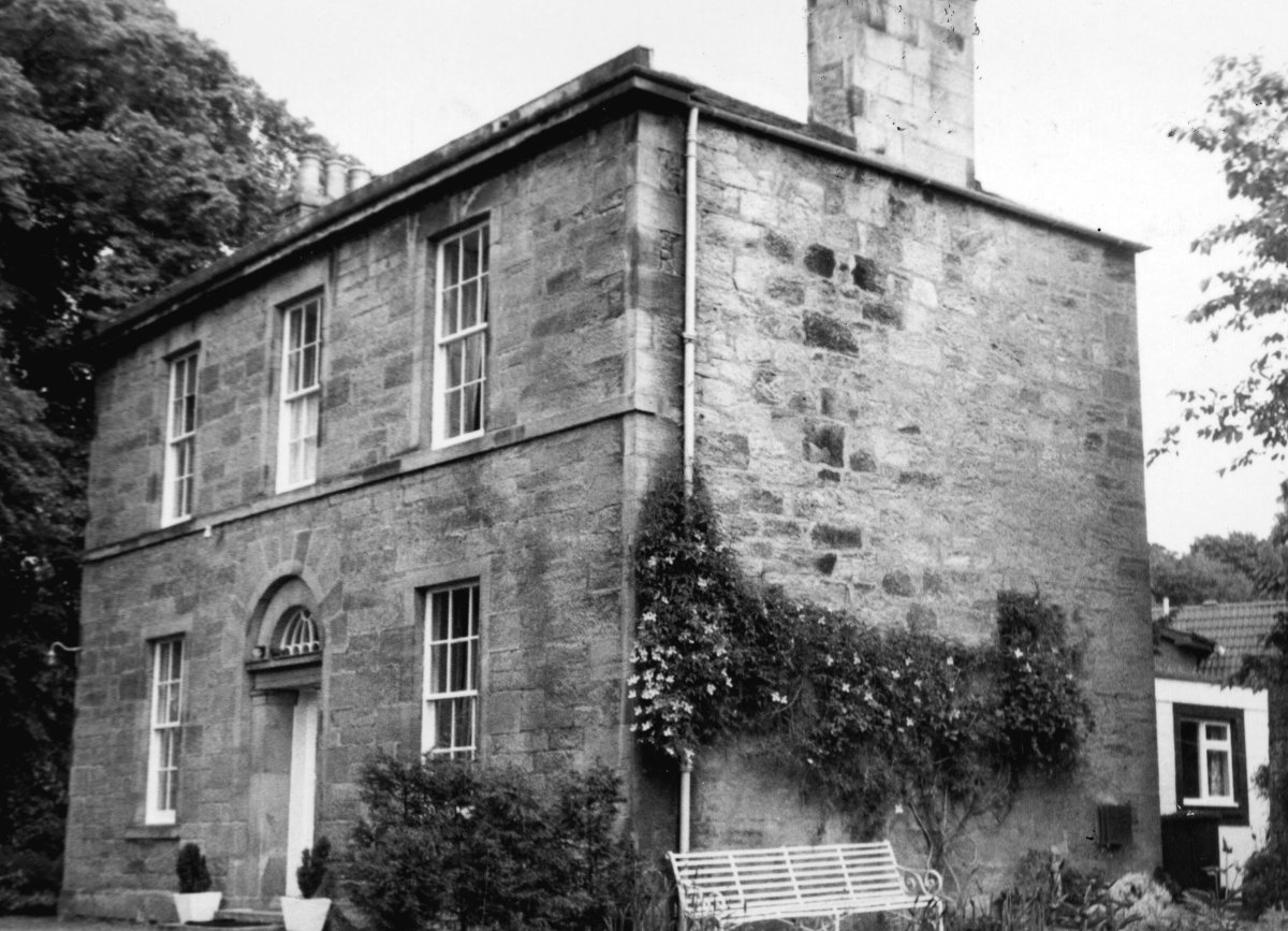 Canal House - now privately owned (c) Courtesy of Historic Environment Scotland
